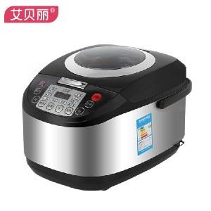 艾贝丽 电饭锅全自动智能预约 5L 电饭煲 黑晶不粘内胆 FT90-5L