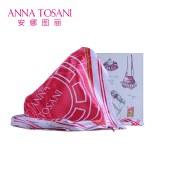 安娜图丽 丝巾保暖时尚搭配风衣大衣丝巾