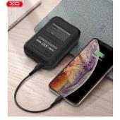XO QC3.0+PD快充移动电源 10000mAh充电宝通用移动充无线充 XO-PR107