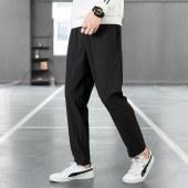 海谜璃长裤男新款青年潮流男式休闲长裤运动裤韩版修身休闲裤HBF2573