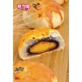 蔡当家海鸭蛋雪媚娘红豆馅蛋黄酥 6枚*2盒装 12颗超值装【新品上市】