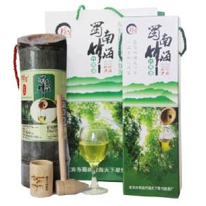 【直播专属】瑶箐五年期竹筒酒52度500ml*2 用五粮液原度酒在鲜竹里发酵5年 礼盒装浓香型包邮