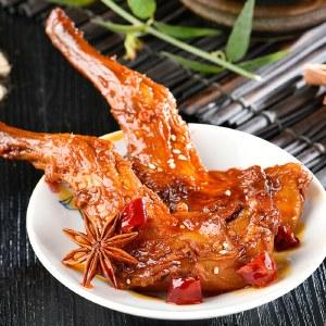 【直播专属】癫狂麻辣/五香兔腿肉 下酒菜即食冷吃兔香辣味小吃零食 四川风味特产120g
