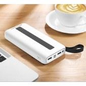 XO 简美系列数显移动电源 20000mAh充电宝通用移动充无线充 XO-PR104