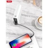 XO Mini触控数显移动电源 充电宝通用移动充10000mAh无线充 XO-PB69