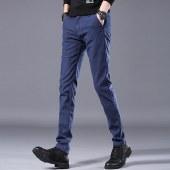 海谜璃2020新款休闲裤男式韩版潮流青年修身长裤棉小脚裤HBF2577