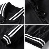 海谜璃2020新款夹克男式韩版风衣修身时尚棒球服男士休闲外套男装潮HBF2585
