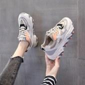 FENGMI秋季新款百搭运动鞋女学生街拍厚底潮鞋 KT529