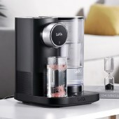 莱卡净水器净饮一体机台式2合1免安装茶饮机自来水过滤器客厅即热直饮饮水机家用KE9401