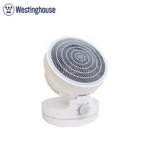 美国西屋(Westinghouse)折叠PTC取暖器 暖风机家用客厅卧室电暖器折叠摇头暖风扇便携立式暖炉循环扇 WTH-P28A