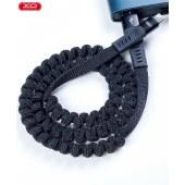 XO  铝合金弹簧数据线 手机通用充电线无线传输线 XO-NB127