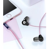 XO 迷你睡眠HIFI耳机3.5mm接口手机耳机 黑色 XO-EP9