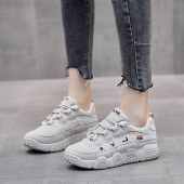 FENGMI秋季新款韩版学生小白跑步板鞋女休闲鞋XX-B201