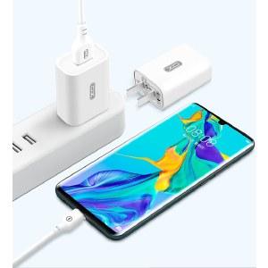 XO   3C认证单口充电头 充电插头手机充电器通用插头 白色 XO-ZC60