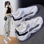 FENGMI新款韩版百搭老爹鞋女原宿学生ins运动鞋女增高街拍鞋子 YB08
