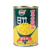 甘竹甜玉米粒罐头425克*6