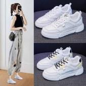 FENGMI秋季新款低帮百搭板鞋女跑步平底休闲鞋 N101