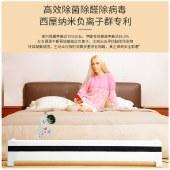 美国西屋(Westinghouse)加湿除菌移动地暖 取暖器家用踢脚线电暖器石墨烯取暖气移动地暖电 WTH-T60
