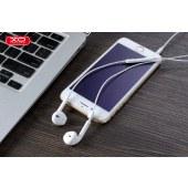 XO 高保真音乐耳机 3.5mm接口手机耳机 通话听歌聊天 白色 XO-S8