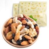 豫雅园每日坚果干果仁零食坚果礼盒孕妇儿童款大礼包30包组合坚果600g