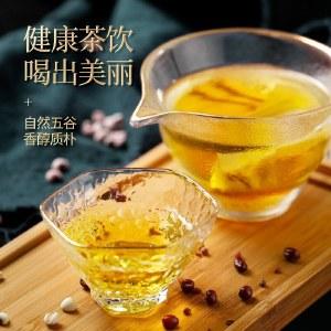 青源堂 红豆薏米芡实茶150g*3袋 花茶组合赤小豆薏仁祛湿养生茶叶