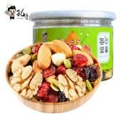 孔哥每日坚果100g/罐装休闲零食孕妇儿童小吃干果核桃仁腰果巴旦木榛子混合坚果