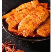 麻妃香辣味黑鸭味素肉休闲食品手撕素肉小包装开袋即食