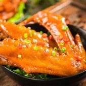 麻妃香辣味鸭翅休闲食品卤味小食开袋即食休闲零食
