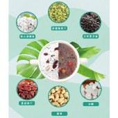 美粥食客水果坚果藕粉羹500g罐装西湖非小袋装食品纯代餐营养养胃早餐