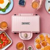 韩国大宇轻食烹饪机家用早餐机三明治机电饼铛华夫饼机烙饼锅单片标配盘SM01/SM02