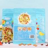 美粥食客混合坚果燕麦片袋装500g可干吃代餐即食果粒草莓烘焙水果【新品上市】