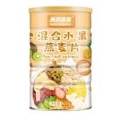美粥食客混合水果燕麦片罐装500g可干吃代餐即食果粒草莓烘焙水果