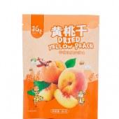 孔哥黄桃干80g网红蜜饯零食果干孕妇儿童办公室休闲小吃【新品上市】