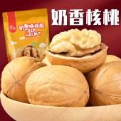 孔哥纸皮核桃108g手剥奶香味核桃原味薄皮核桃孕妇坚果零食