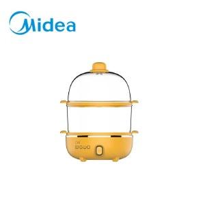 美的(Midea)捣蛋鬼系列 MZ-ZG16E111 电蒸蛋器不锈钢双层