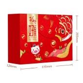 孔哥好运来礼盒1594g坚果炒货巴旦木碧根果组合干果零食大礼包年货产品
