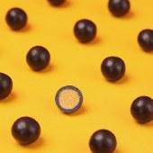 黑巧克力麦芽脆心球麦丽素168g*2箱装