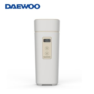 韩国大宇电水壶烧水壶便携式家用旅行电热水壶随行冲奶泡茶办公室养生保温杯D2升级款