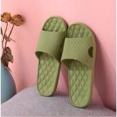 冷角格纹室内家用软底凉拖鞋浴室洗澡防滑防水防臭情侣40-45码女夏季男家居鞋鞋子