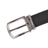 啄木鸟PLOVER男士双扣头皮带商务腰带裤带套装GD1835