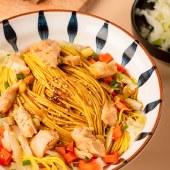 网红速食咖喱鸡肉拌面非油炸方便面多盒装炸酱面干拌面