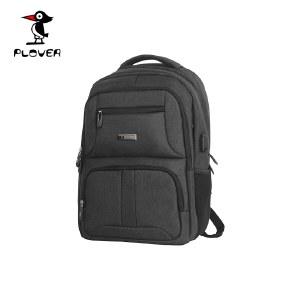 啄木鸟PLOVER防水尼龙双肩背包商务通勤电脑包男女商务背包笔记本包书包旅行包GD300135-H