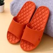 冷角格纹室内家用软底凉拖鞋浴室洗澡防滑防水防臭情侣36-41码女夏季男家居鞋鞋子
