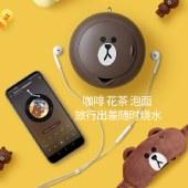 九阳(Joyoung)line折叠水壶烧水壶旅行便携热水壶压缩水杯迷你小型电水壶K06-Z2开水煲