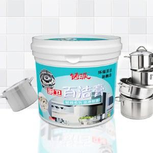 铸派不锈钢清洁膏家用焦渍油垢厨房清洁剂洗锅底黑垢去除强力除锈