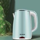 美菱热水壶2.0L电热水壶烧水壶家用小型水壶泡茶一体开水壶MH-LC1820