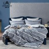 路易卡罗居尚四件套家纺被套家纺枕套家纺床单被单床上用品 自由国度 LK-6322