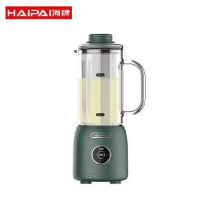 海牌(HAIPAI)迷你破壁豆浆机全自动加热静音0.25L小容量多功能破壁机免滤榨汁杯料理机绿色DM08C
