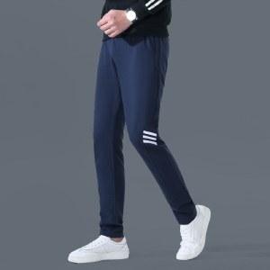 海谜璃春秋季运动裤男长裤直筒加大码宽松休闲裤子夏季薄款卫裤HBF2037