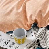 路易卡罗居尚四件套家纺被套家纺枕套家纺床单被单床上用品 蓝森物语 LK-6322